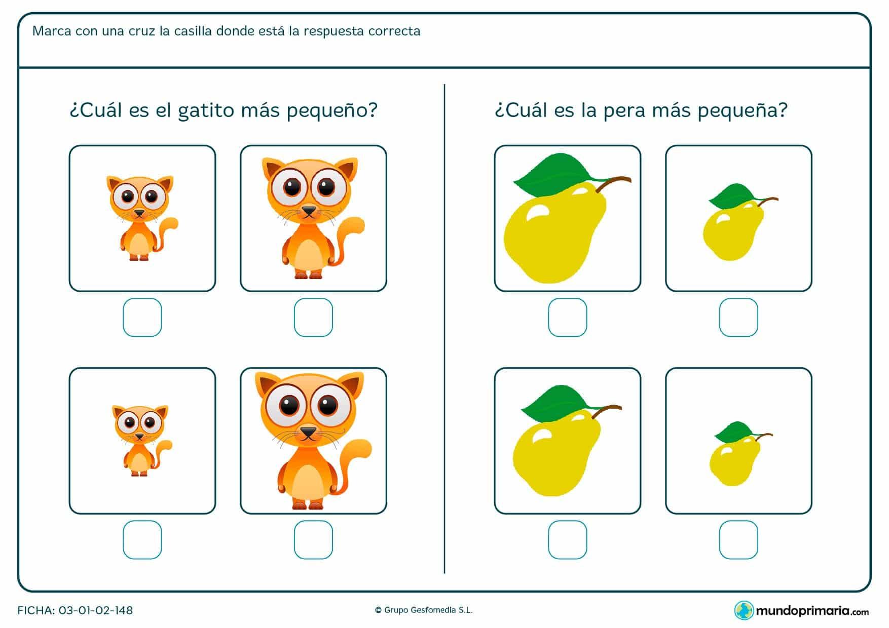 Fichas | EJERCICIOS de MATEMÁTICAS para niños de primaria【2018】