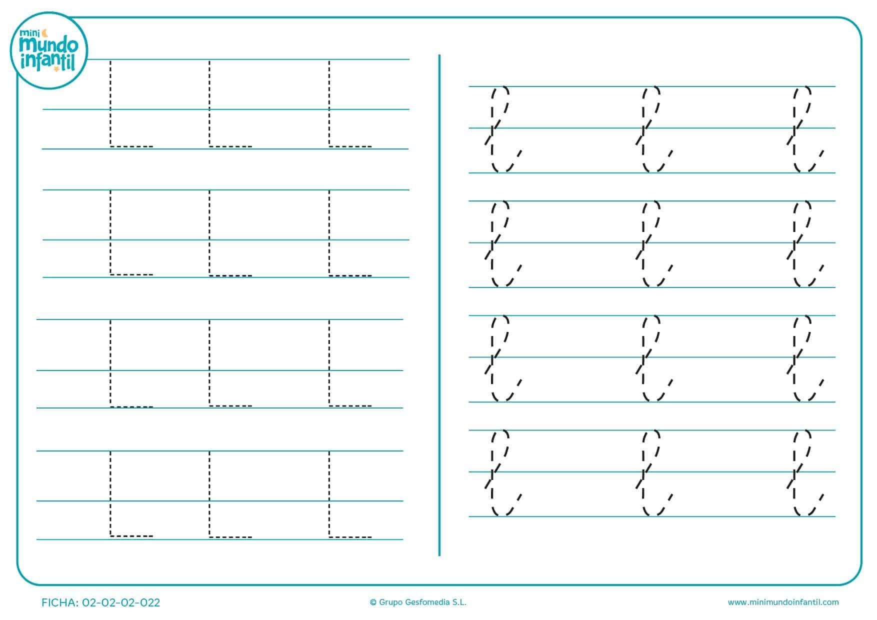 Fichas grafomotricidad 4 años primaria