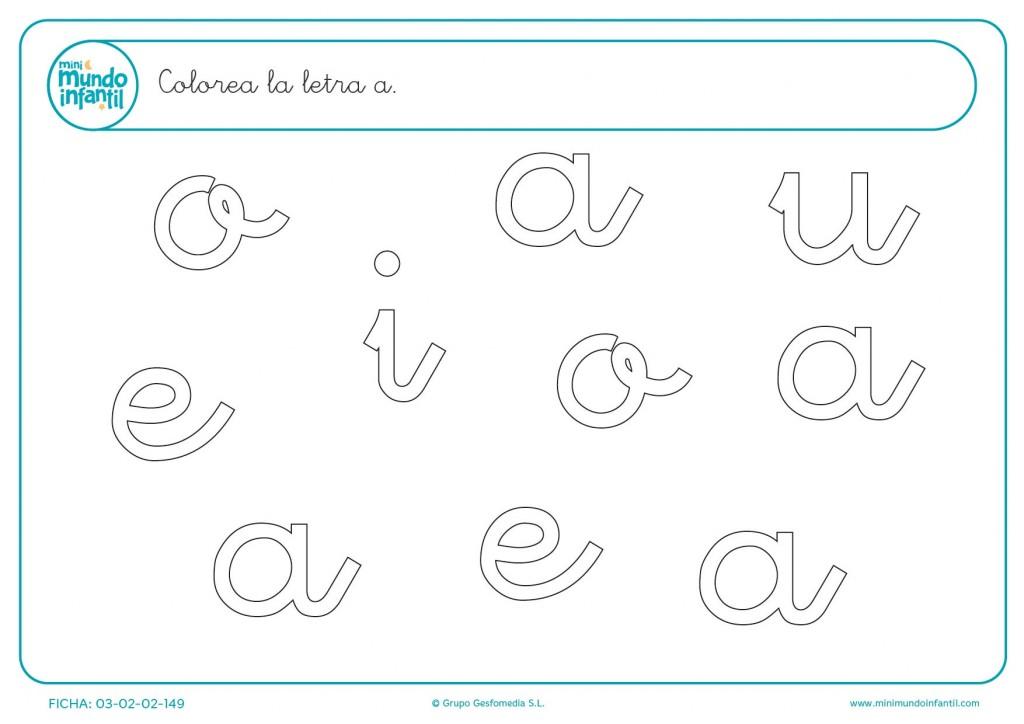 Poner color a la letra b en minúsculas