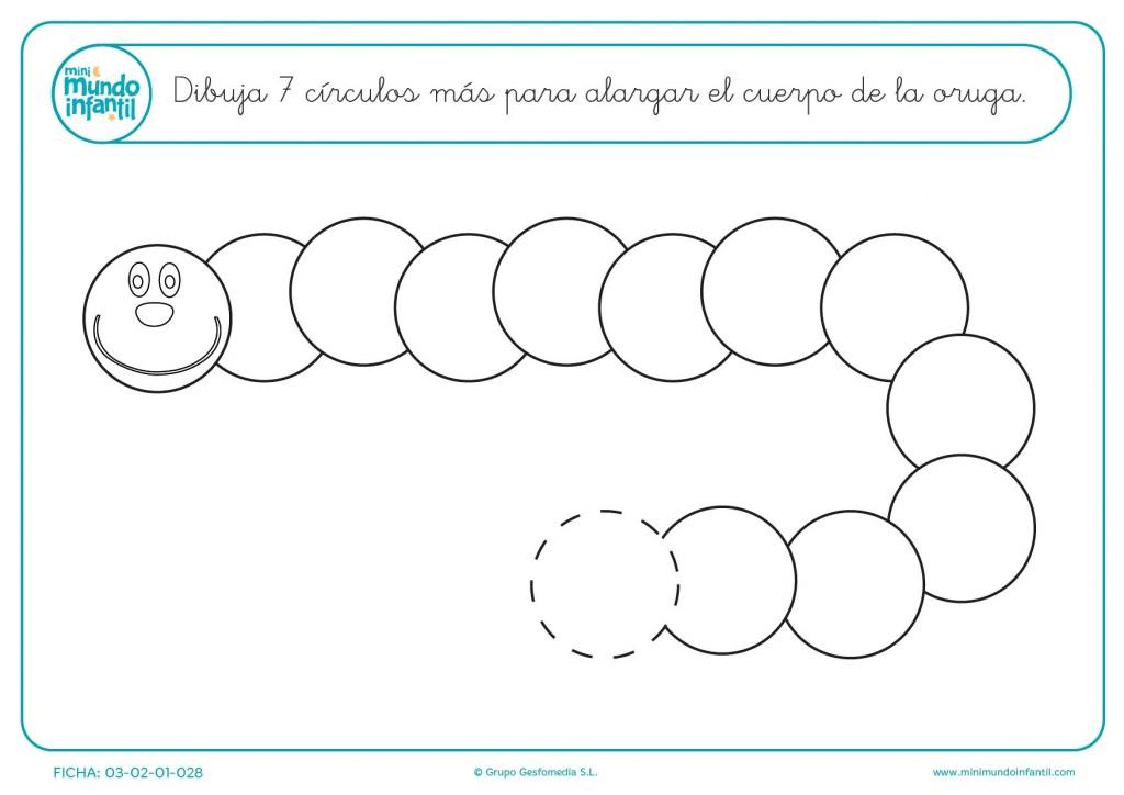 Trazar 7 círculos