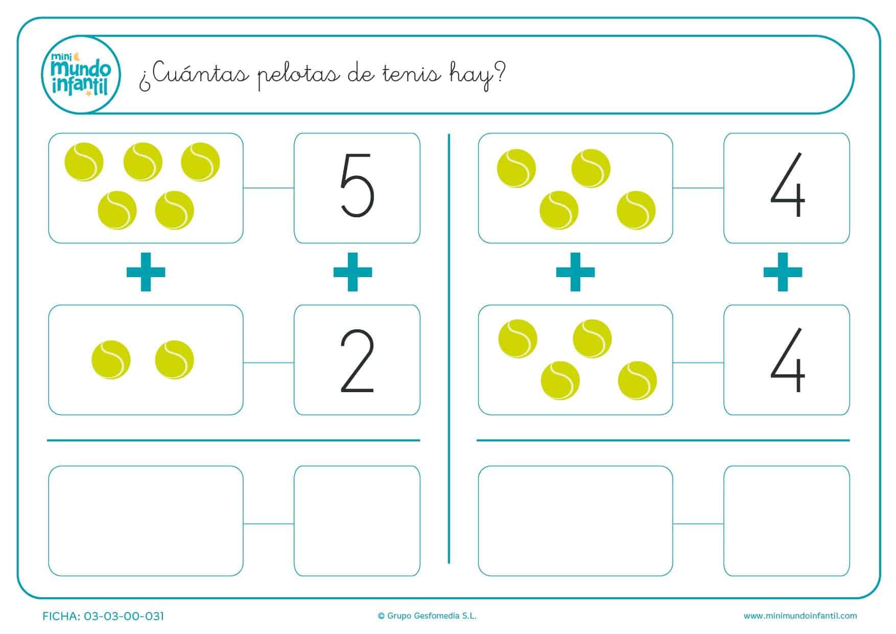 Fichas para aprender a contar | Mundo Primaria