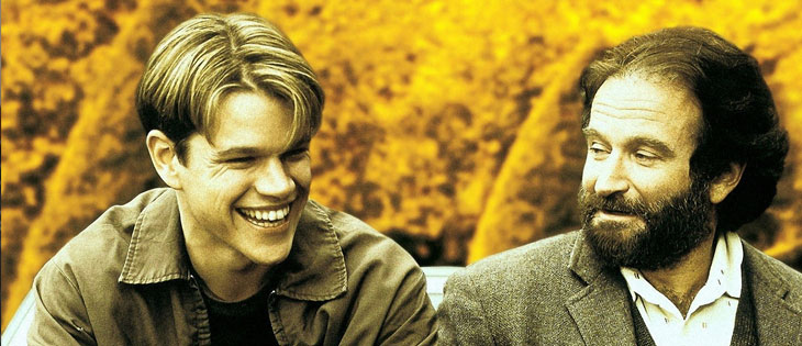 Películas profesores El indomable Will Hunting