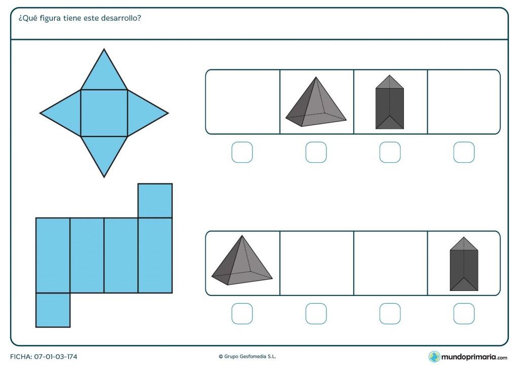 Ficha de escoger la fracción apropiada para superar la ficha de 5º