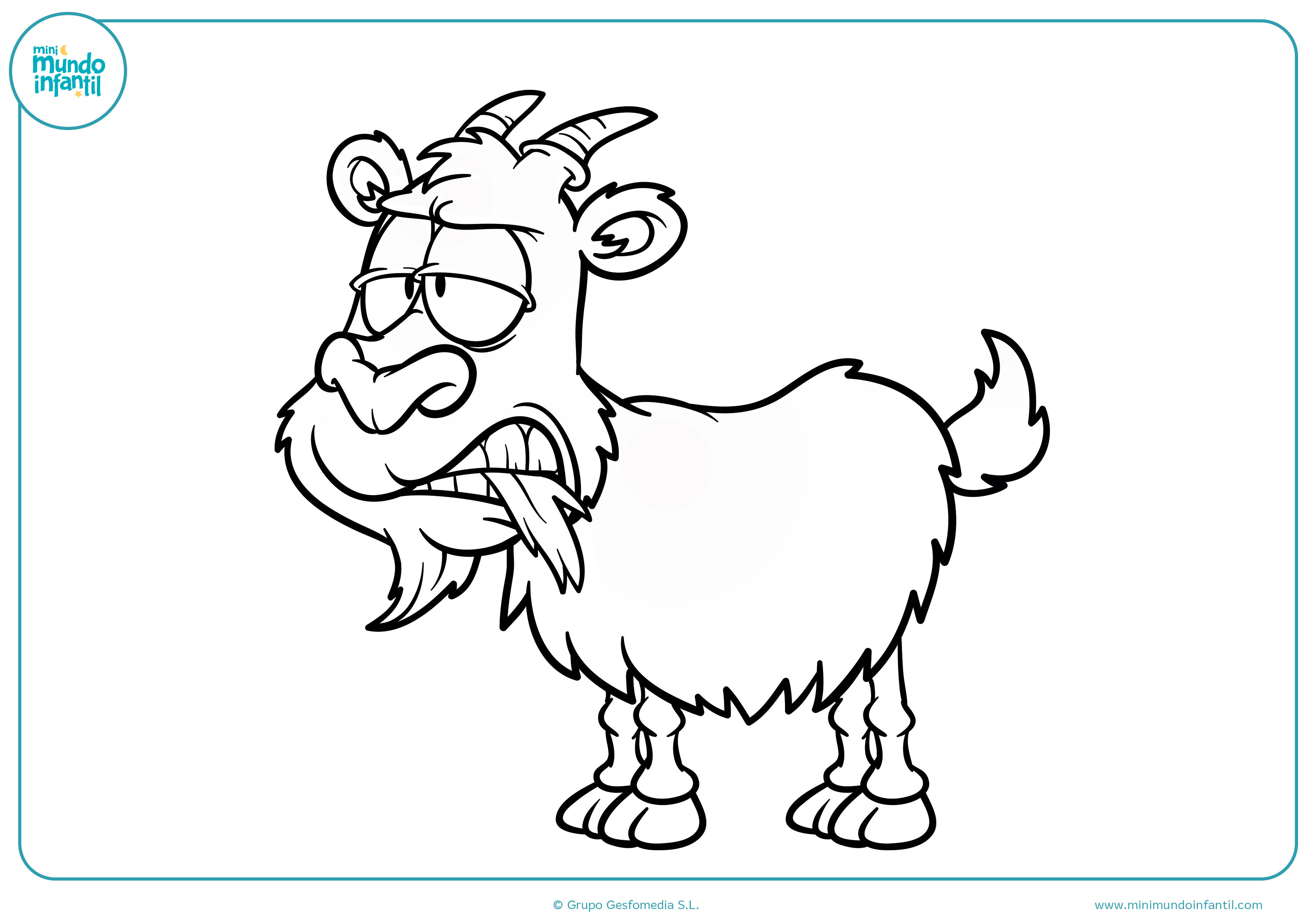Dibujos animales granja colorear