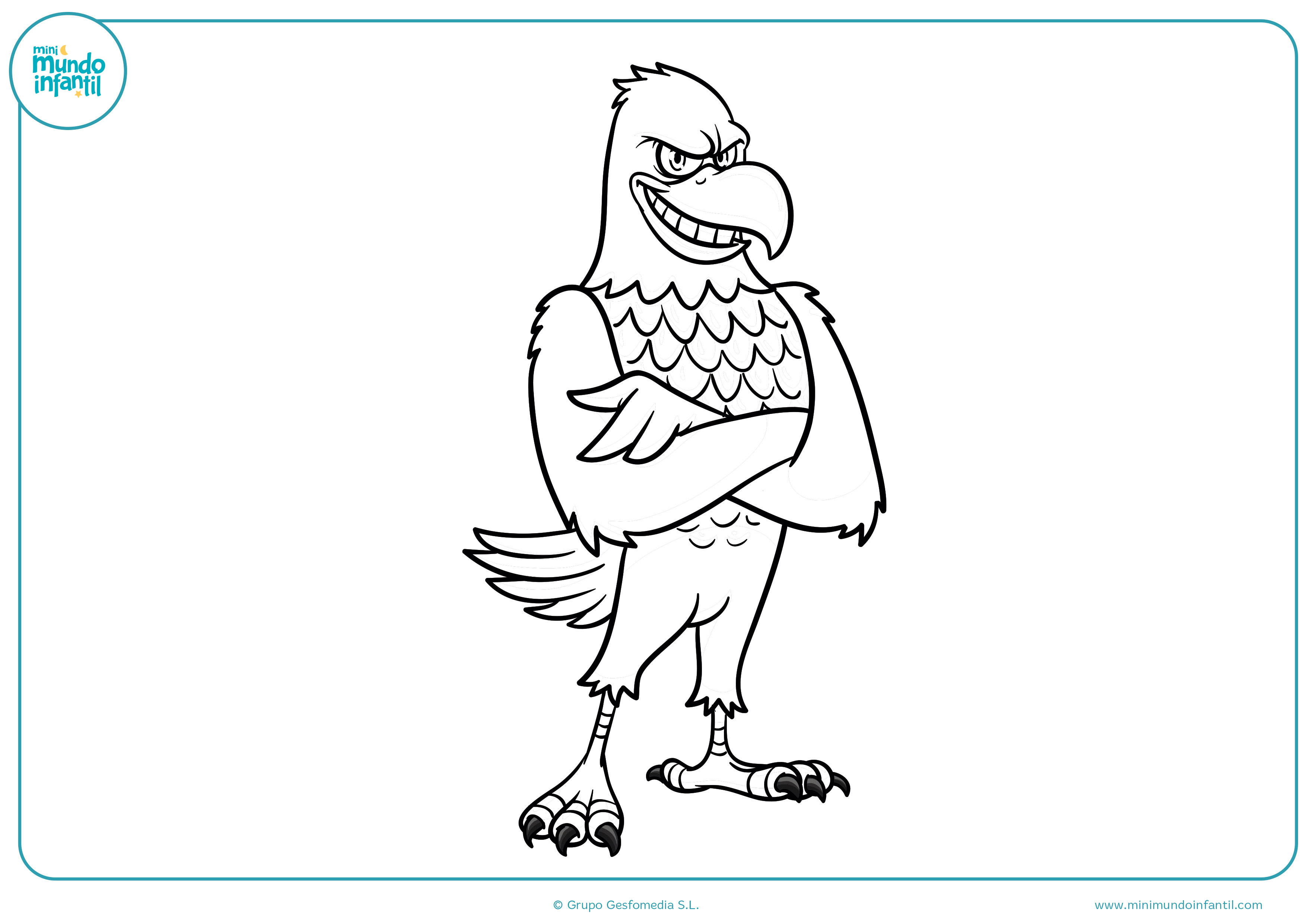 Dibujos de aves para colorear - Mundo Primaria