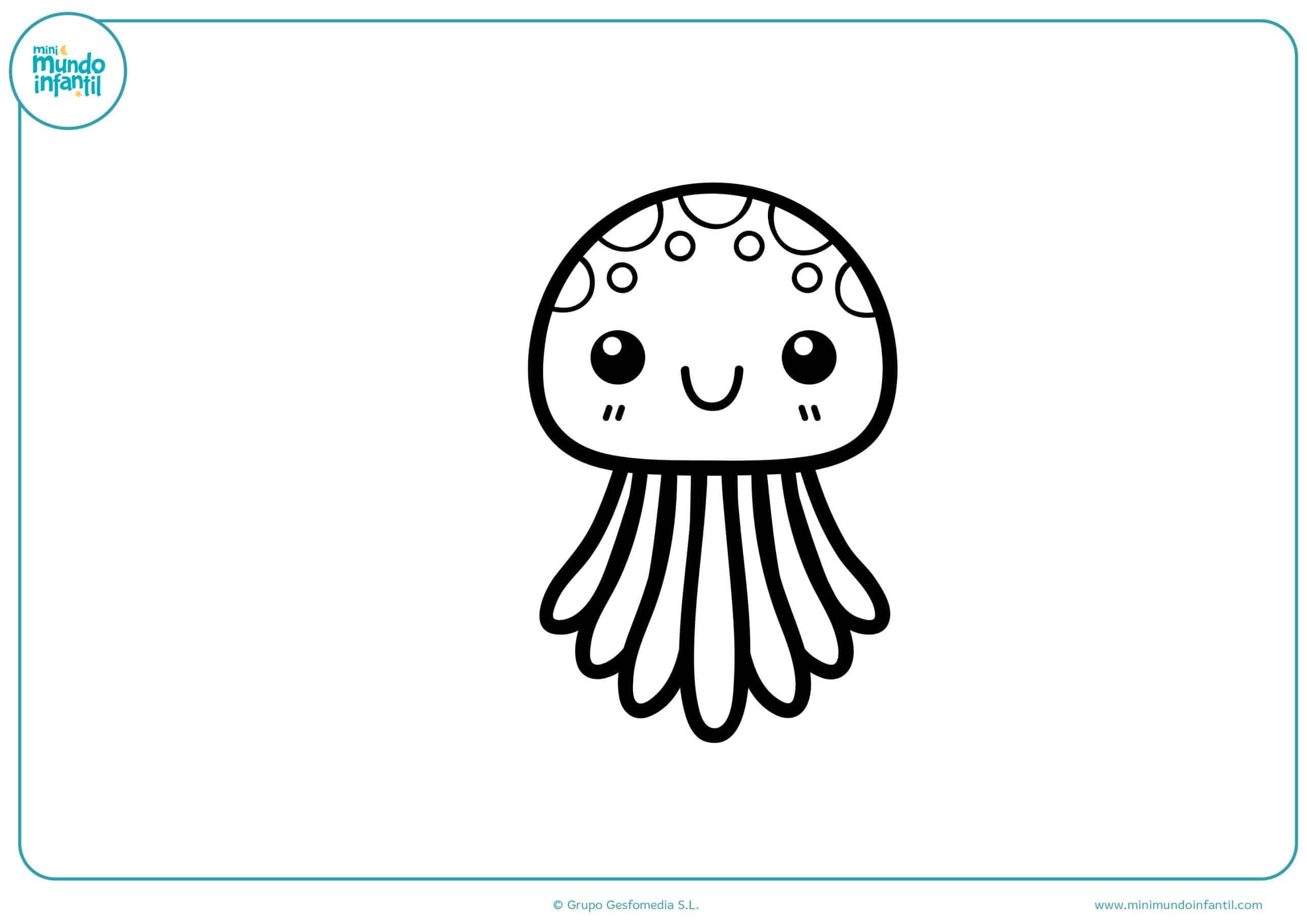 Dibujos de animales marinos para dibujar