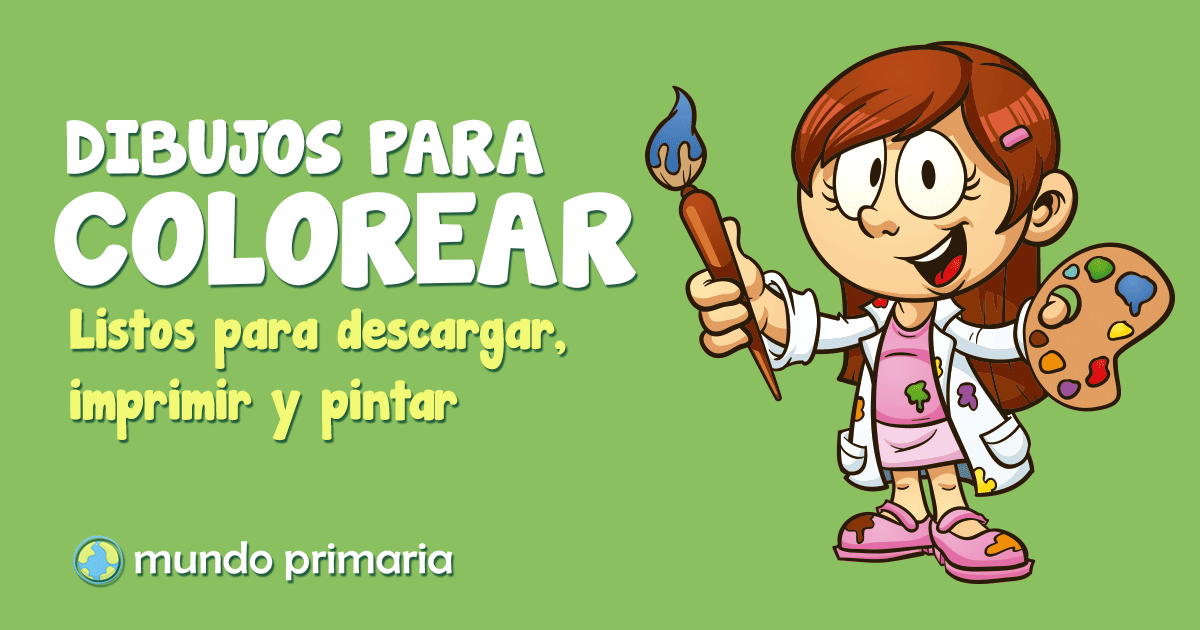 DIBUJOS PARA COLOREAR Y PINTAR 【2018】➔ más de 500 dibujos