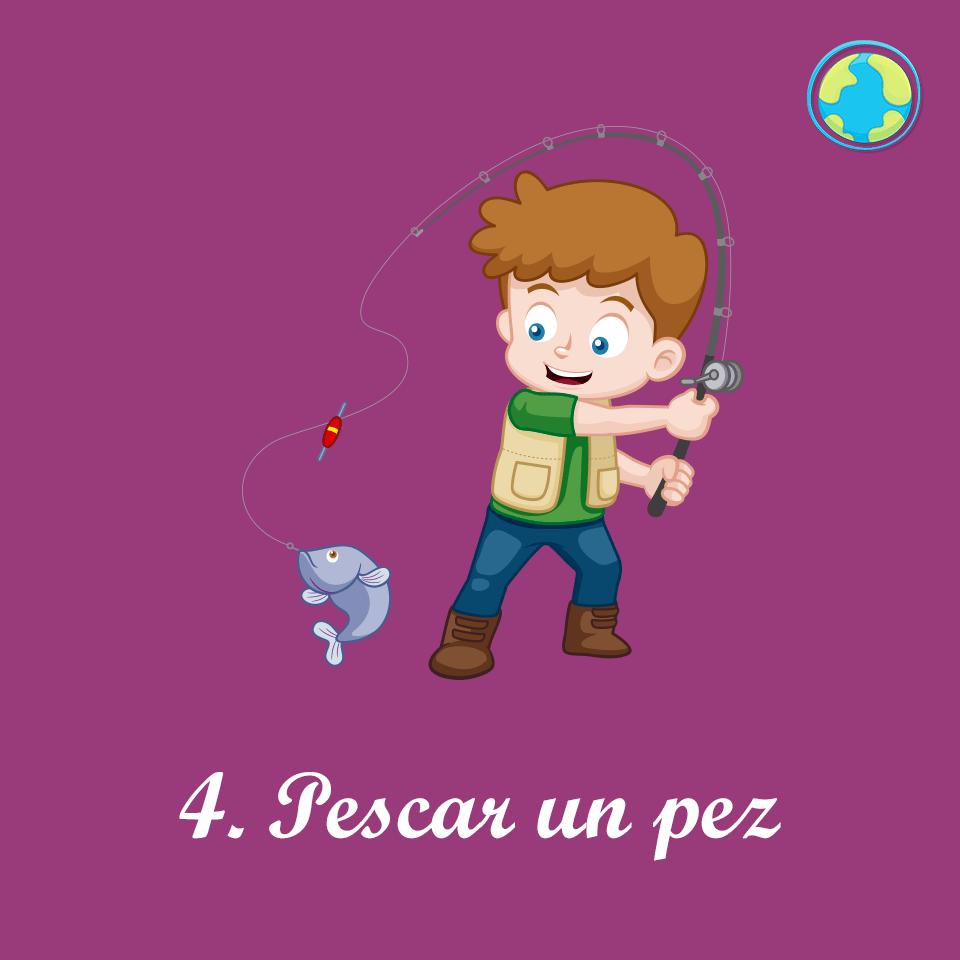 4-Pescar pez