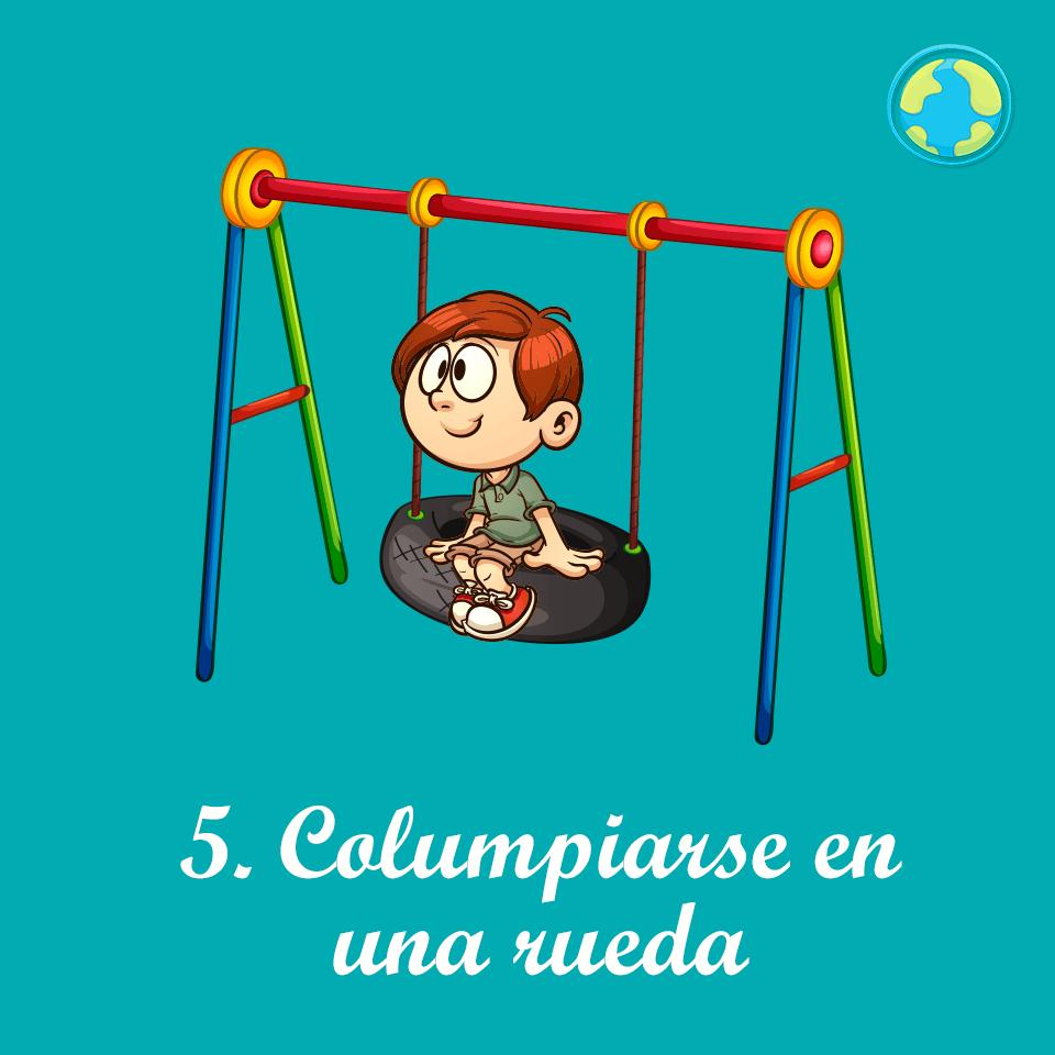 5-Columpiarse rueda