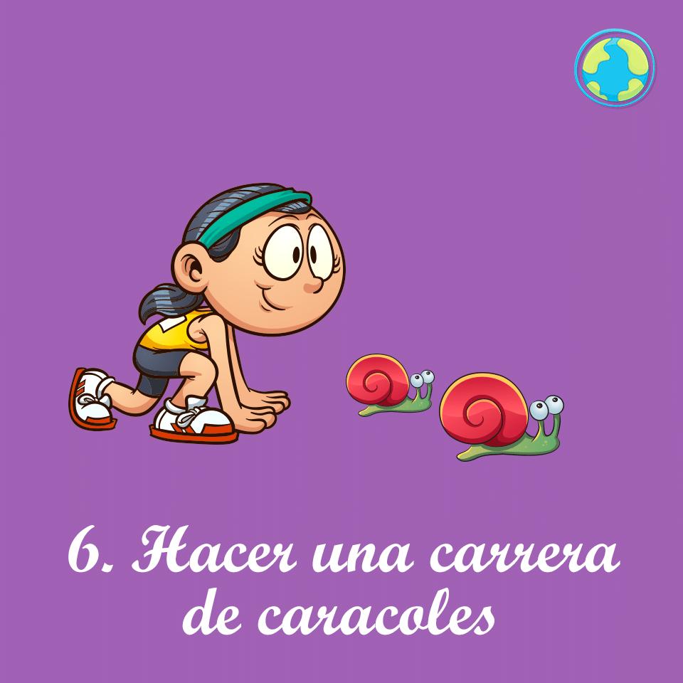6-Carrera caracoles