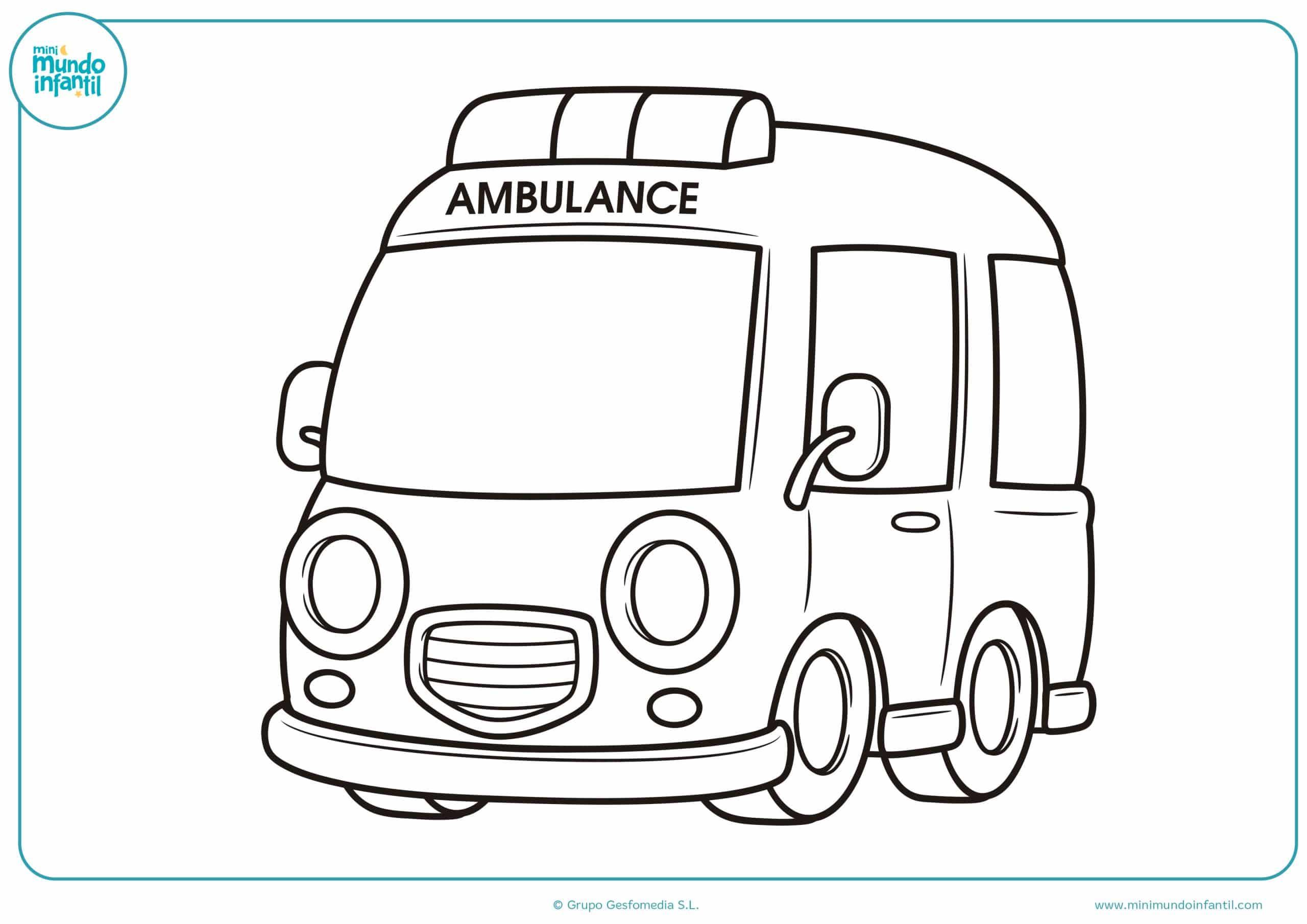 Dibujos coches para colorear