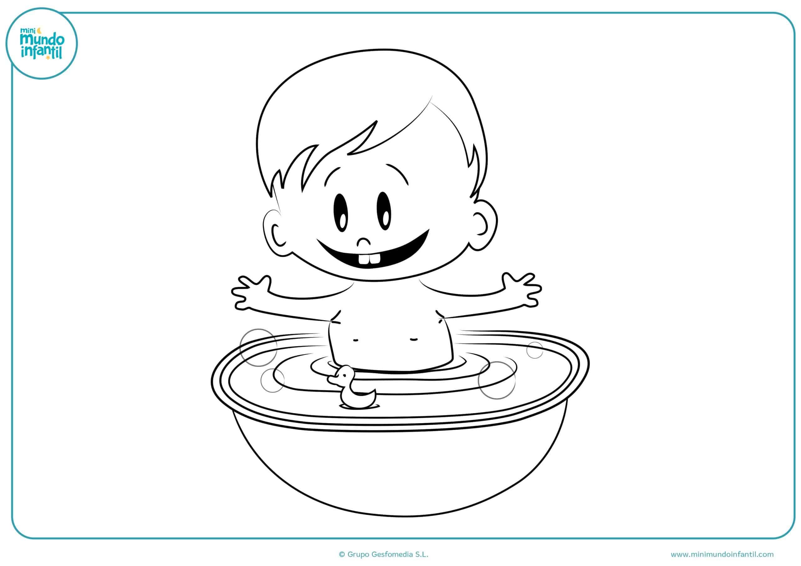 Dibujos De Niños Y Niñas Para Colorear (Jugando