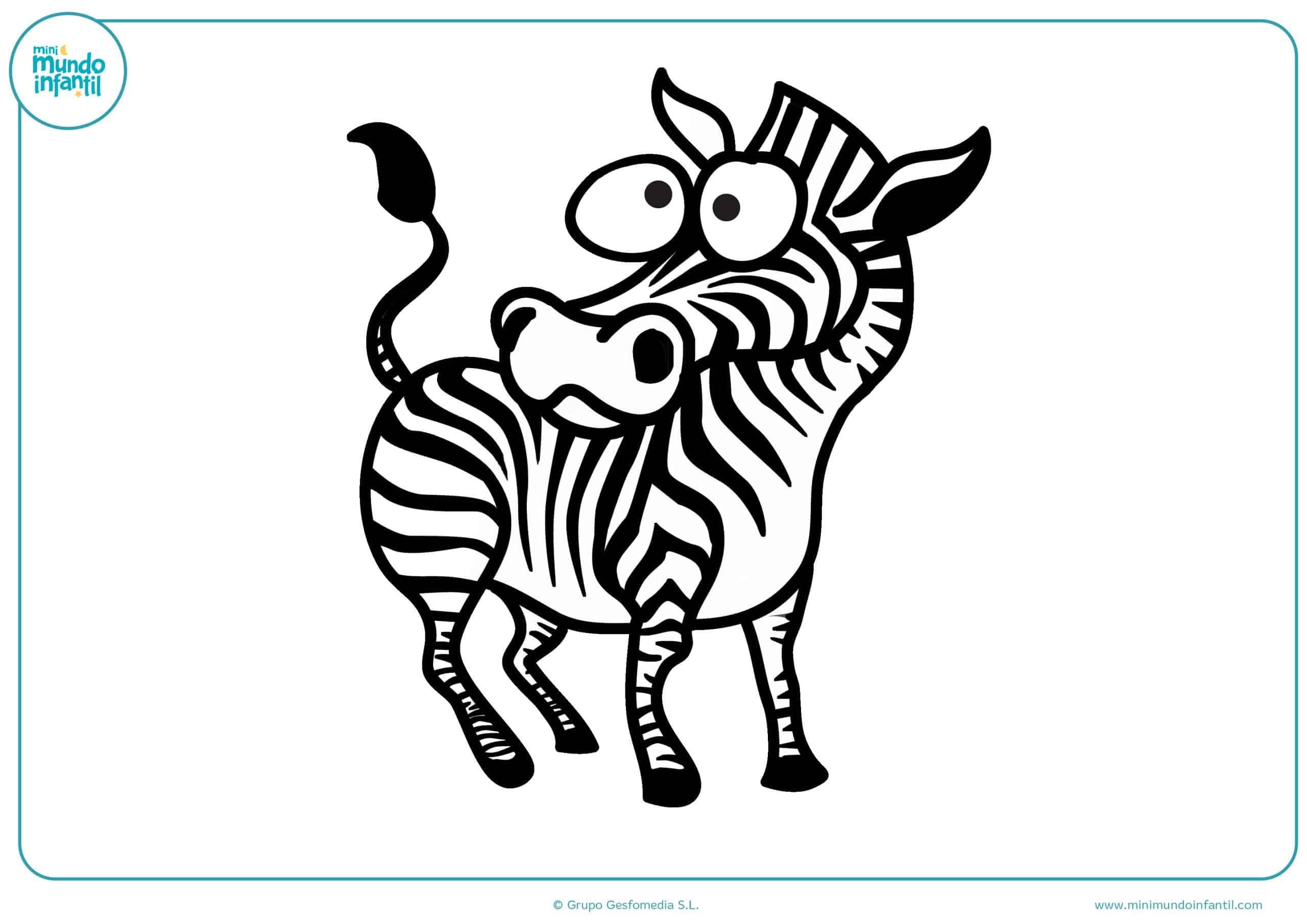 Colorear Dibujos Infantiles: Dibujos De Animales De La Selva Para Colorear