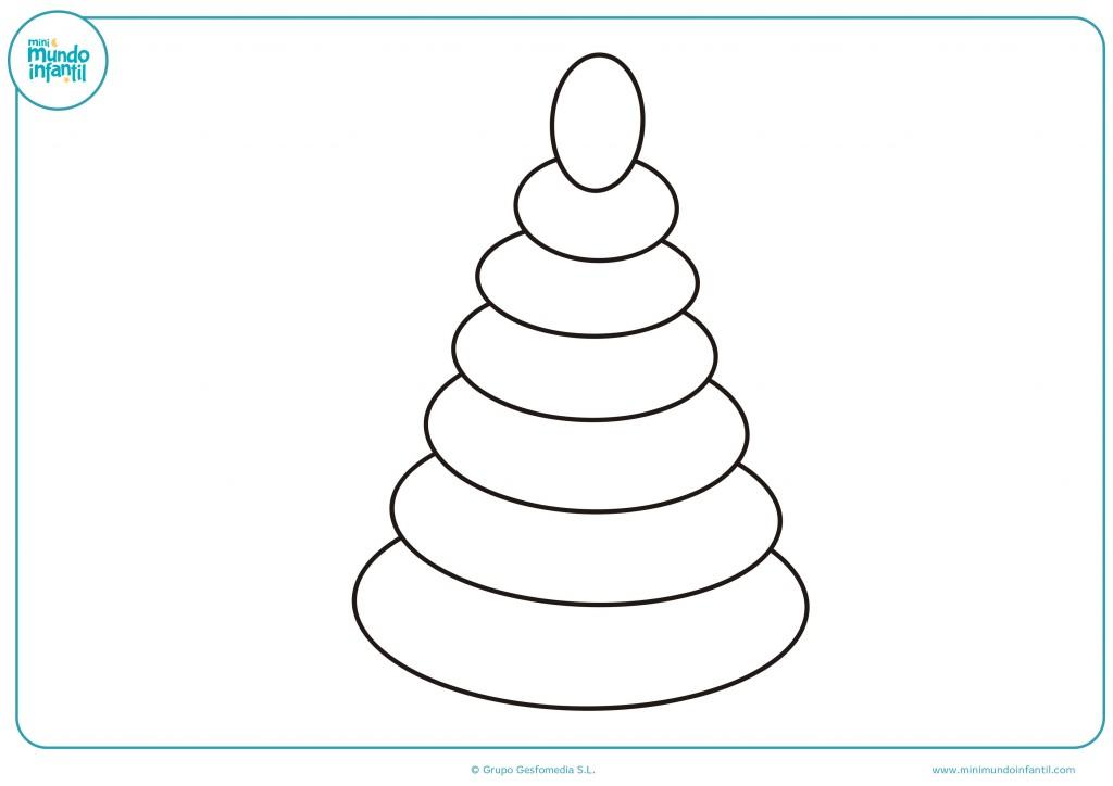 Usa tus ceras para colorear este cono de juguete