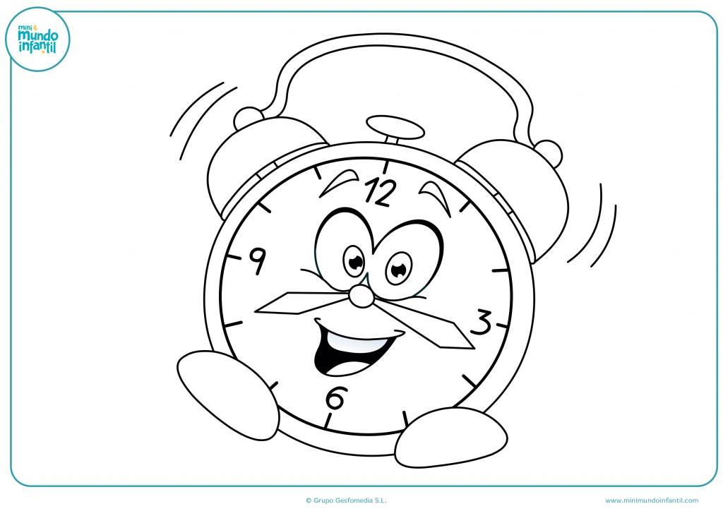 Pinta este reloj con cara como más te guste