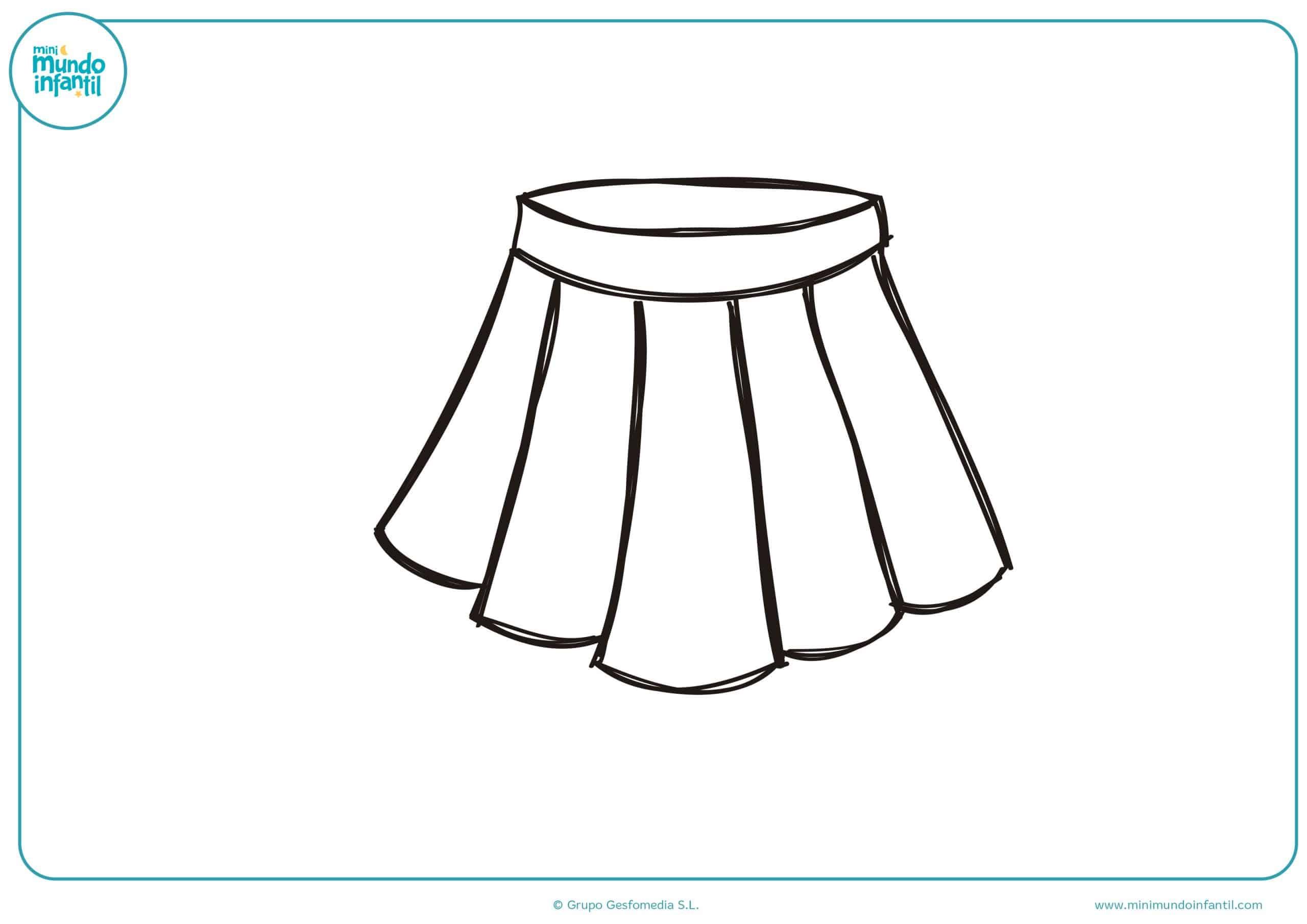 Dibujos De Ropa Para Colorear E Imprimir: Dibujos De Moda Para Colorear
