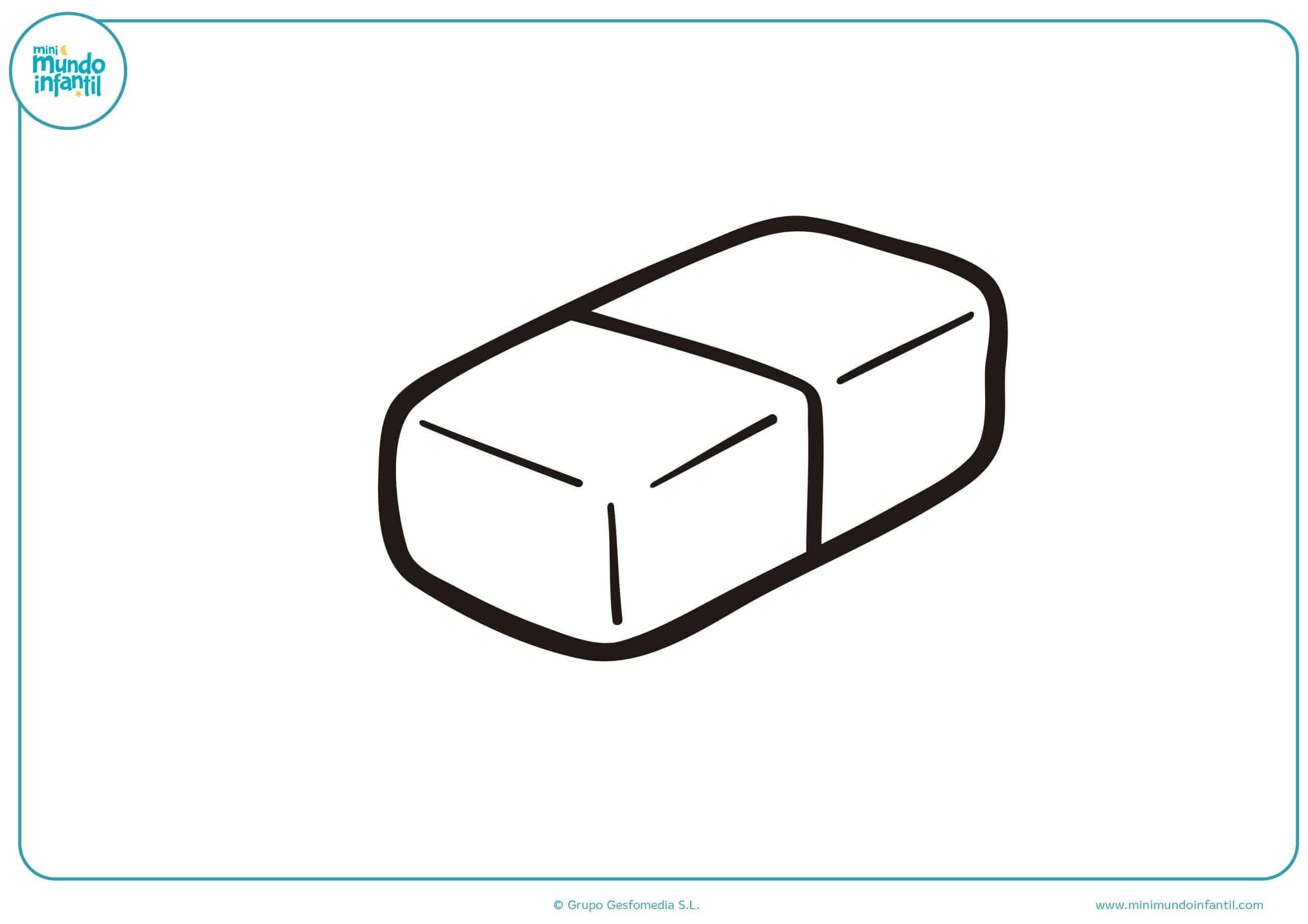 Dibujos de material escolar para dibujar