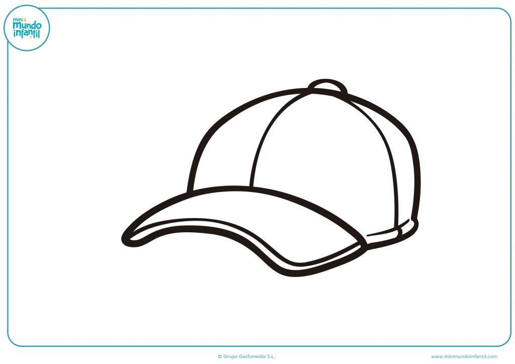 Decora esta gorra con tus dibujos y colores favoritos