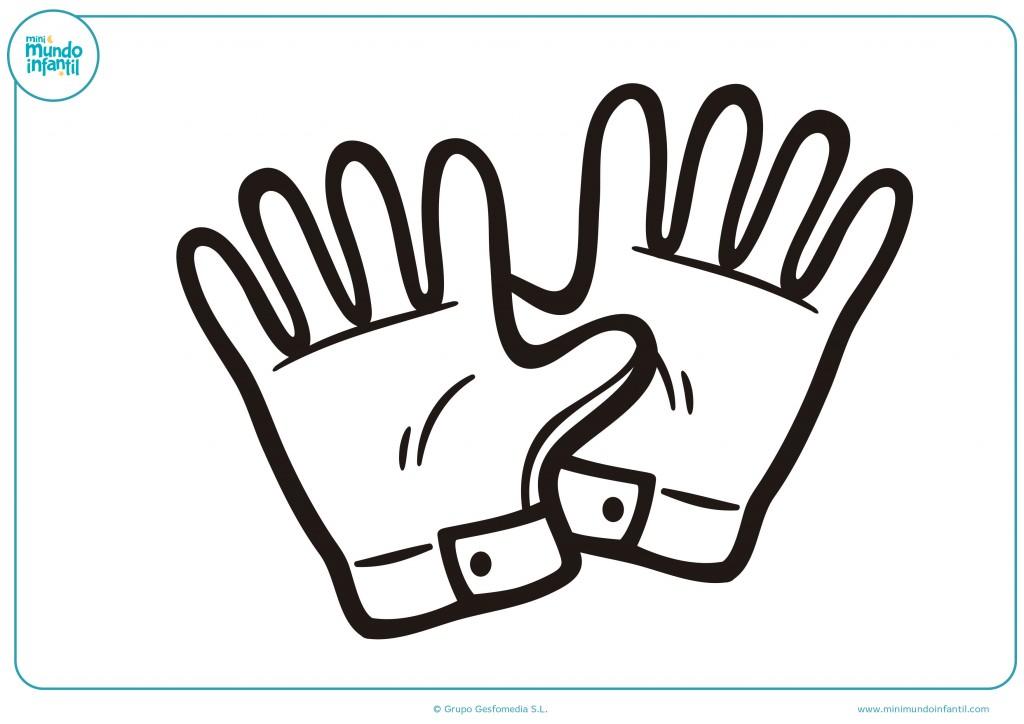 Pinta estos guantes de portero de fútbol