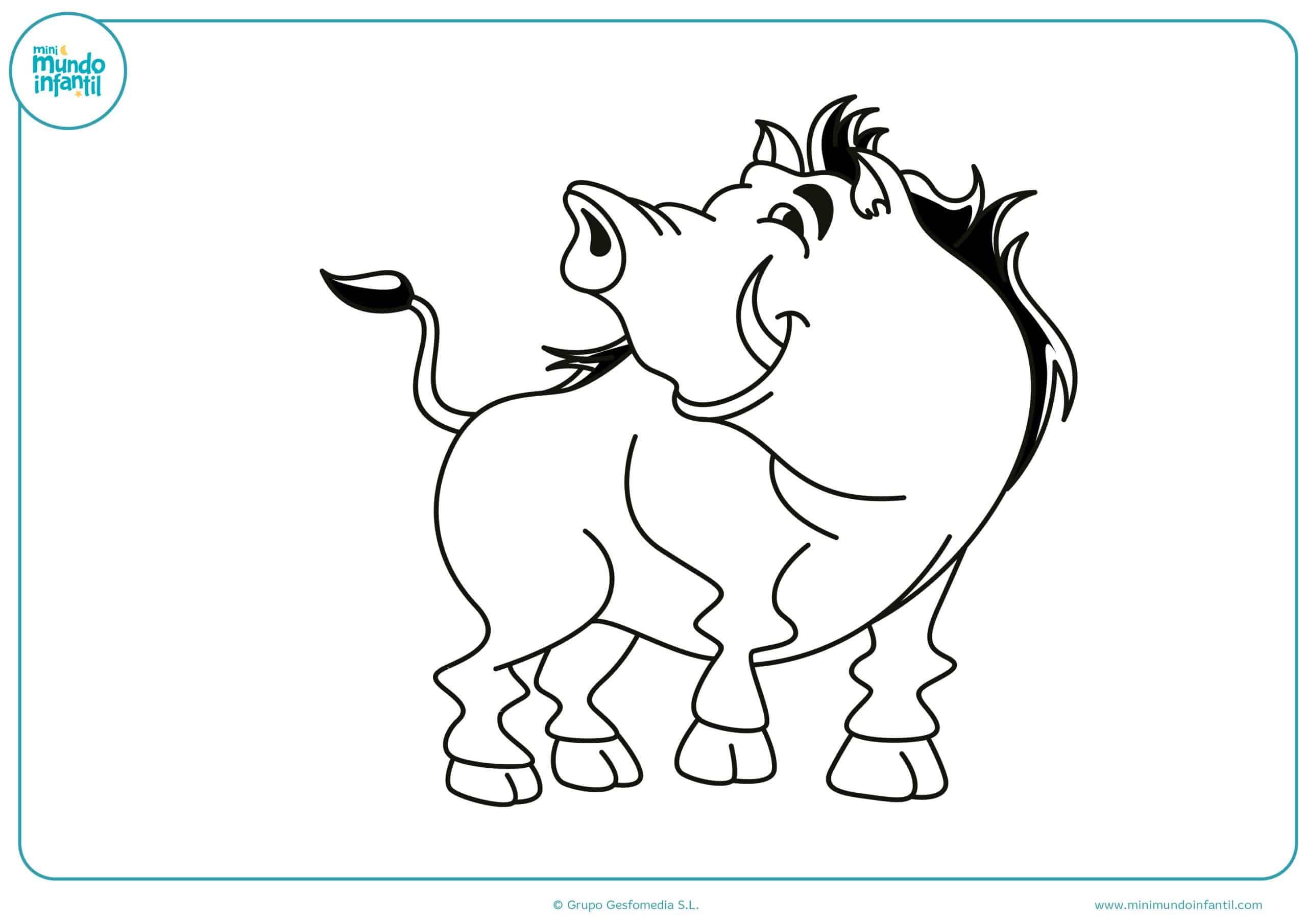 Dibujos para colorear animales omnívoros
