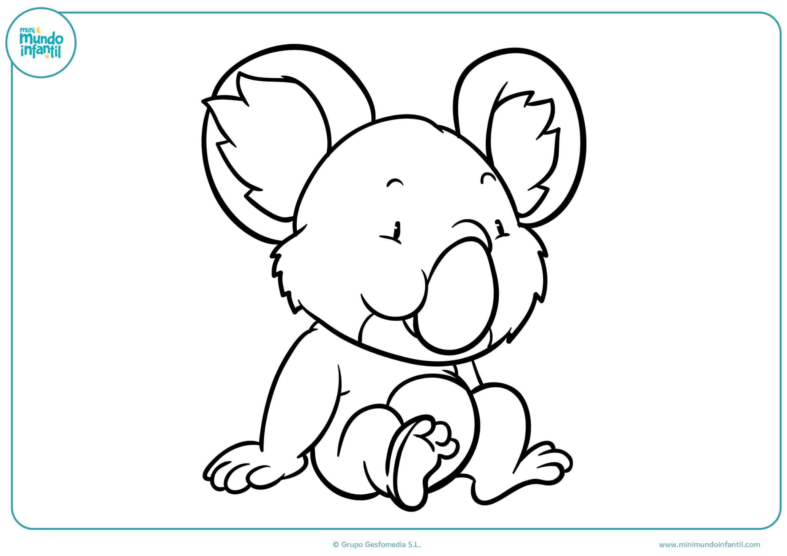 Dibujos para colorear animales herbívoros de primaria