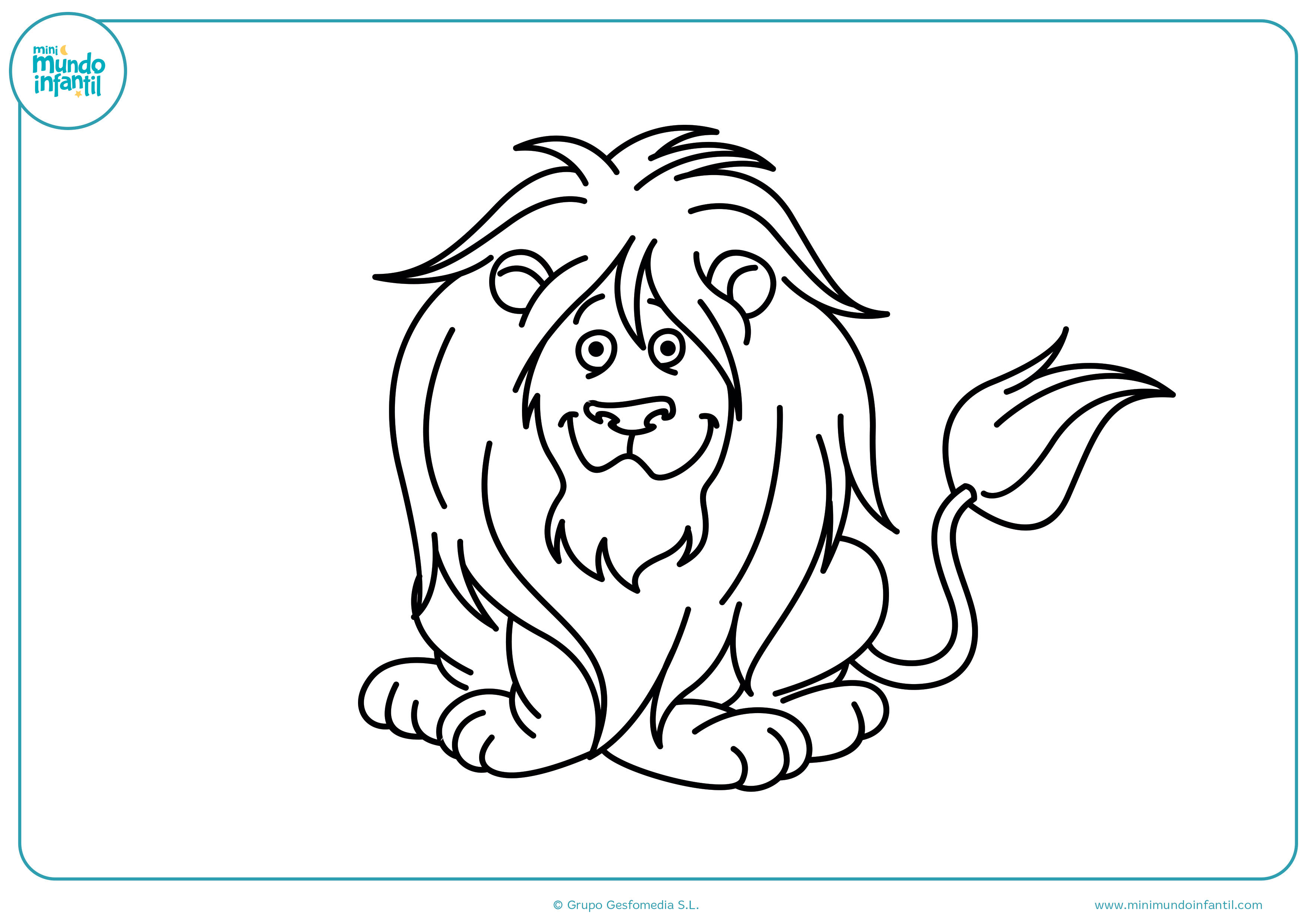 Colorear dibujos animales carnívoros