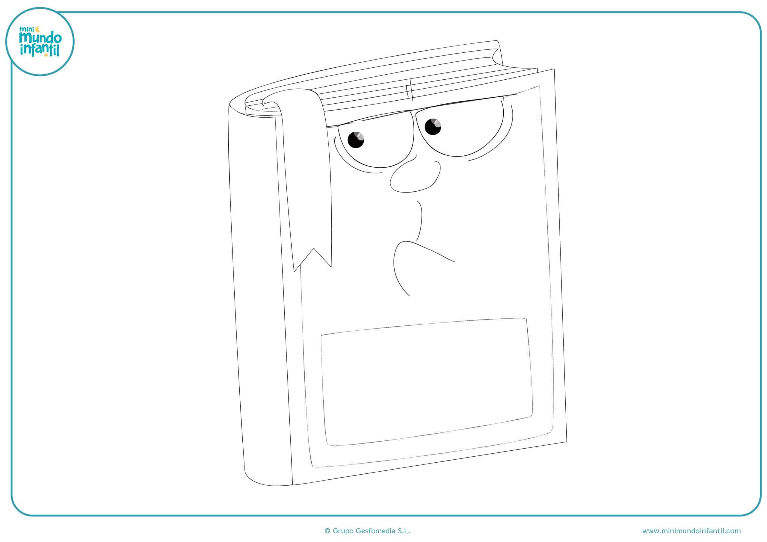Dibujos material escolar niños primaria