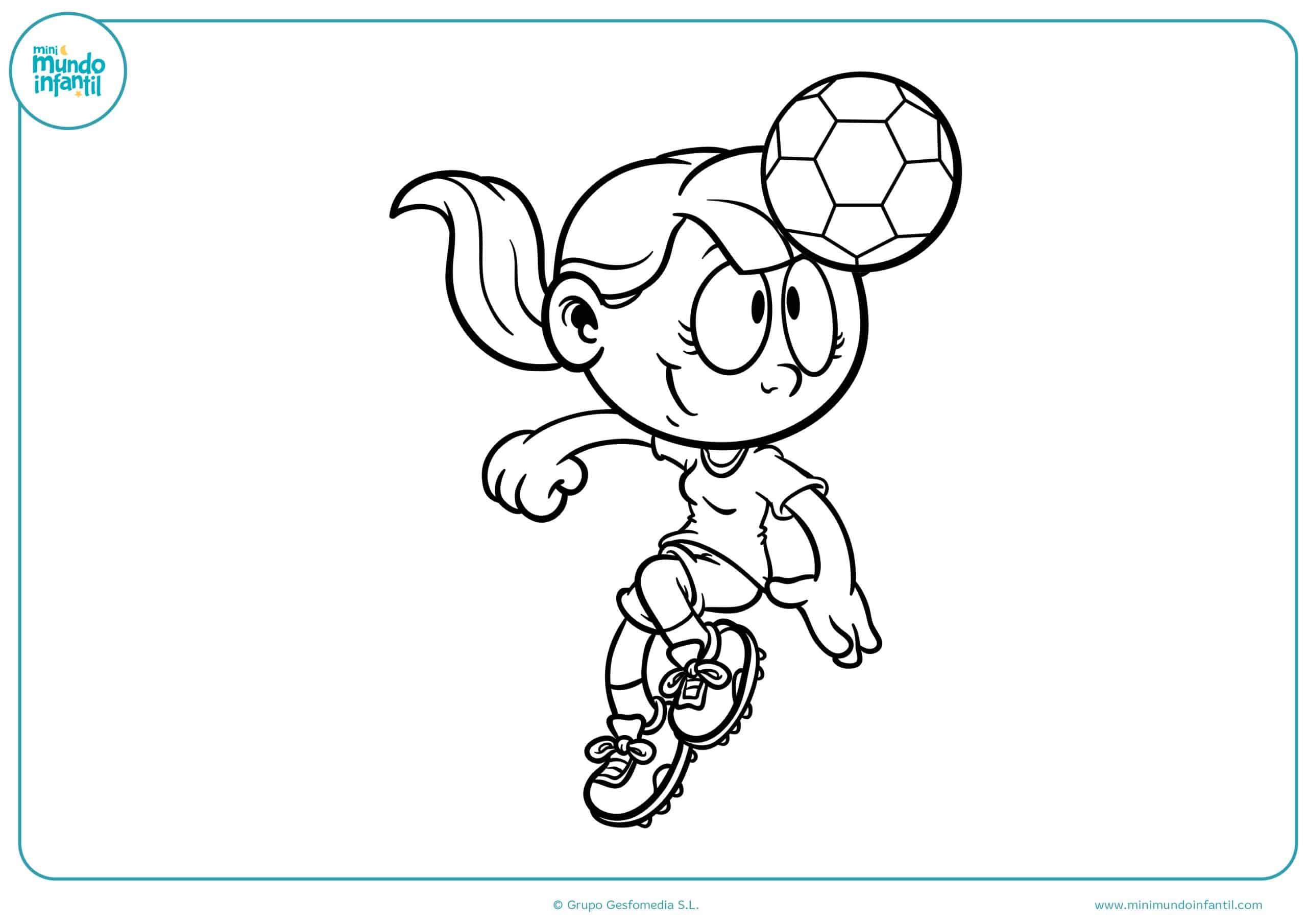 Juego Para Colorear: Los Mejores Dibujos De Fútbol Para Colorear E Imprimir