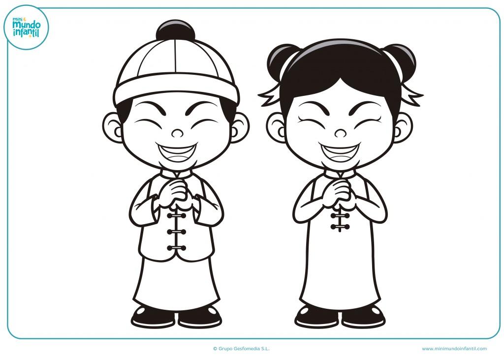 Pinta de colores a estos niños de China
