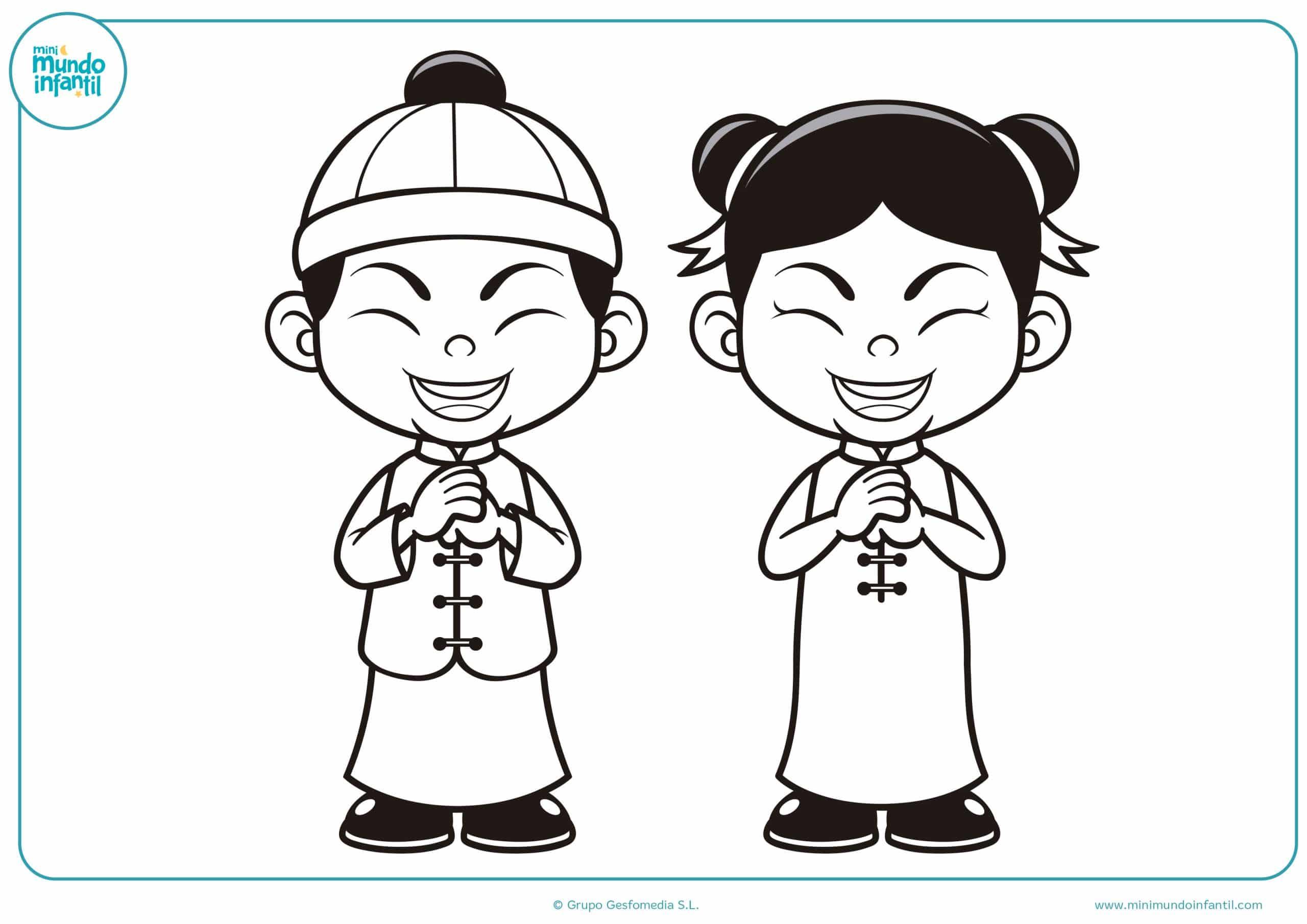 Para Niños De Dibujos Animados Caras Diferentes: Dibujos De Las Culturas Del Mundo Para Colorear