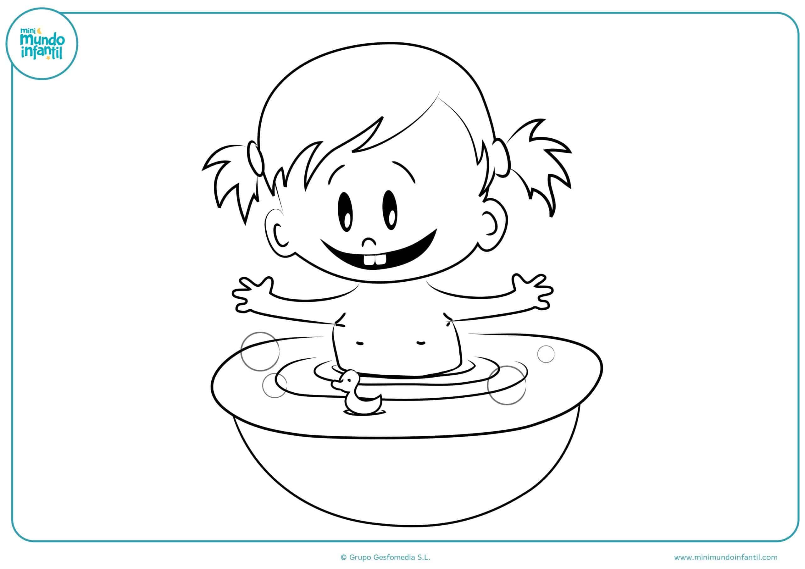 Niño Dibujo Para Colorear