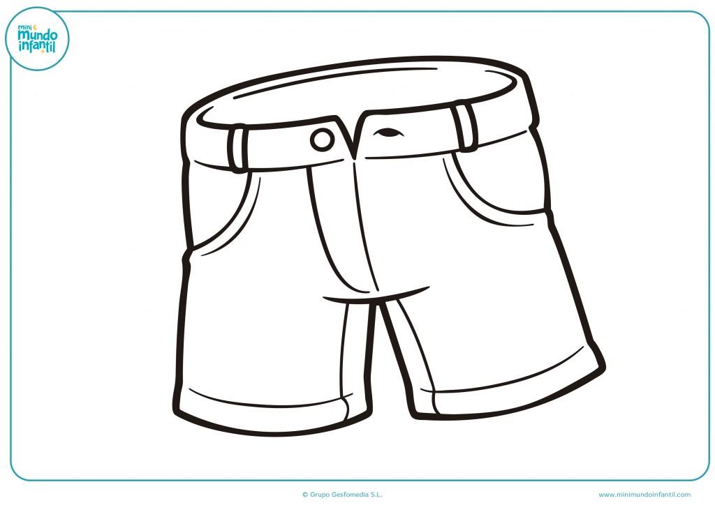 Colorea los pantalones como te gusten más