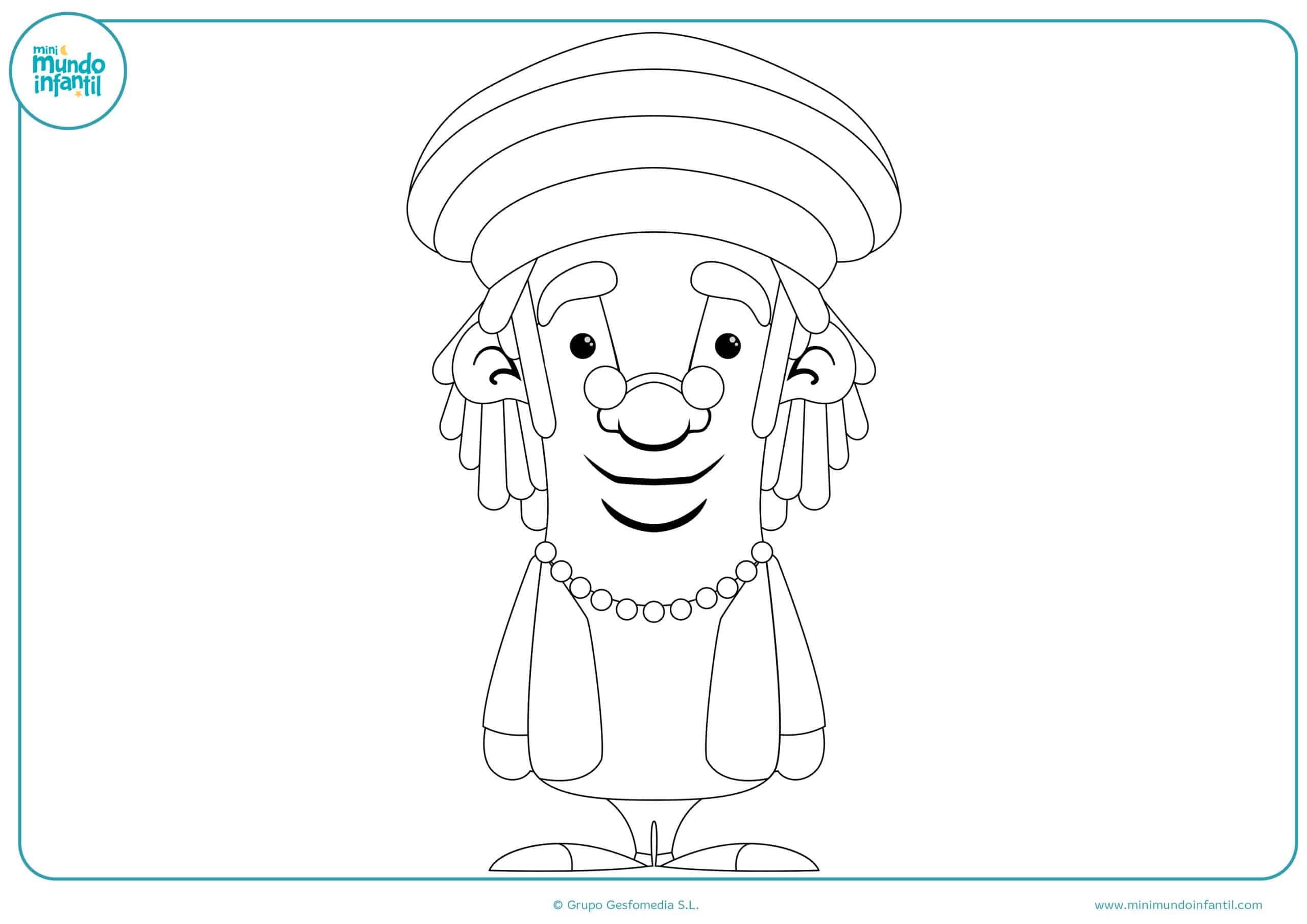 Dibujos colorear cultura niños