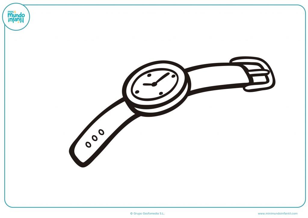Decora el reloj usando ceras o rotuladores