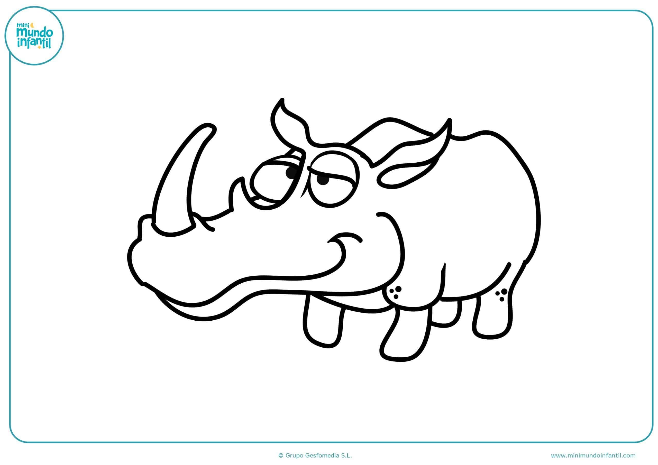 Dibujos colorear animales herbívoros para imprimir