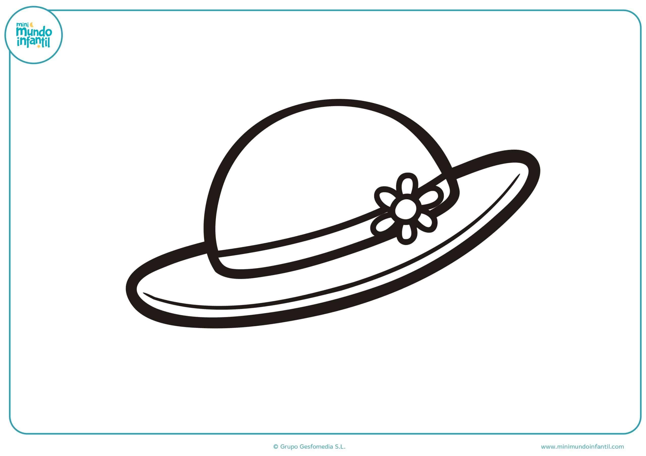Vistoso Sombrero Para Colorear Inspiración - Ideas Para Colorear ...
