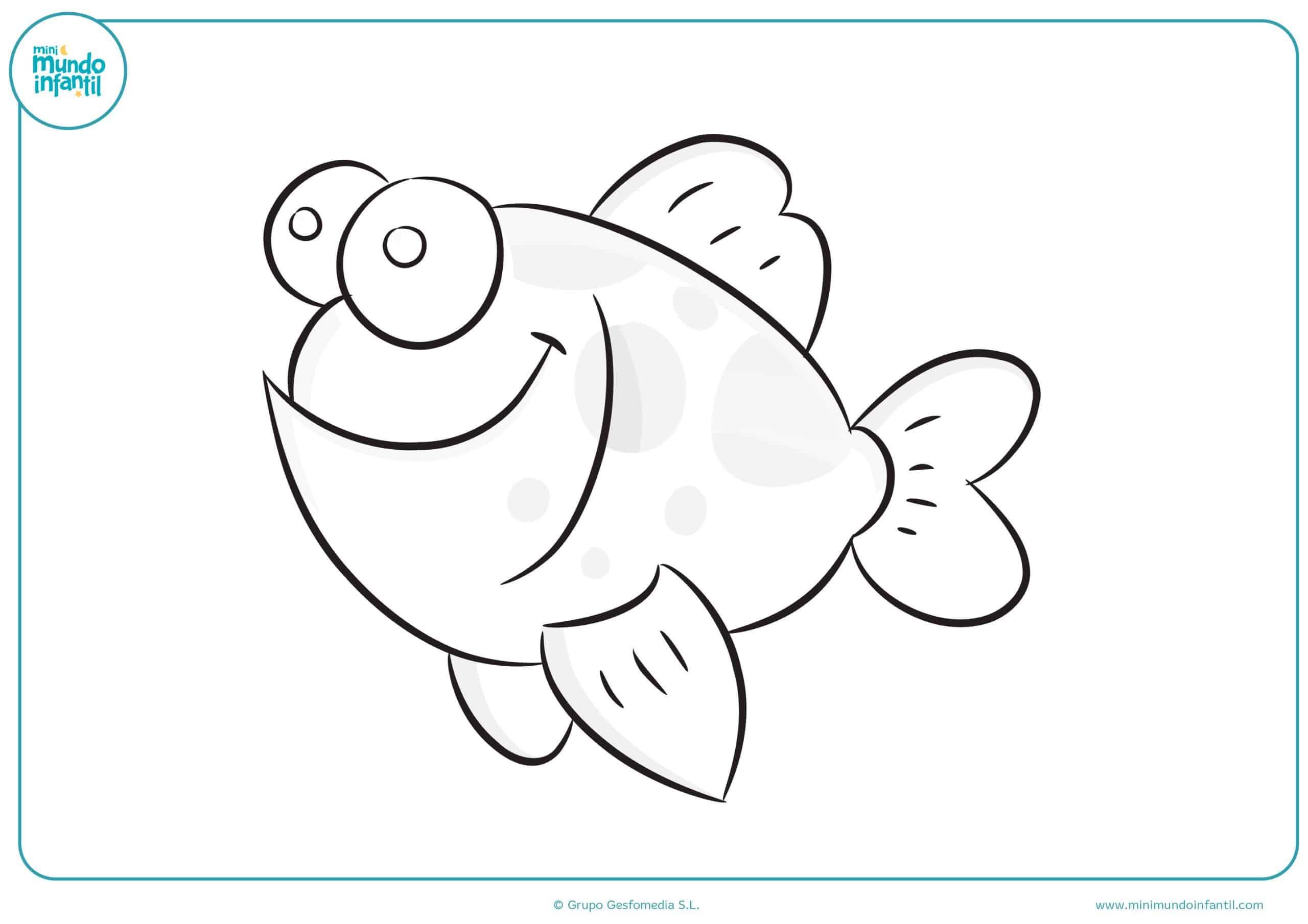 Dibujos animales marinos niños primaria