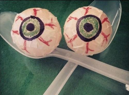 Carrera ocular, juego para Halloween