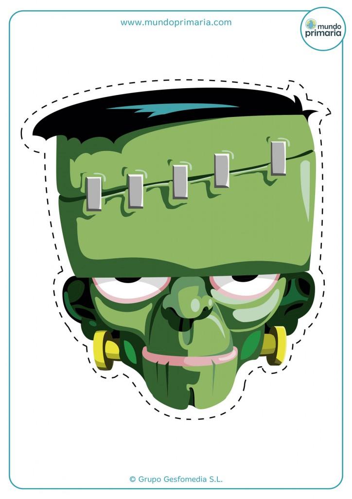 Careta del monstruo de Frankenstein para Halloween