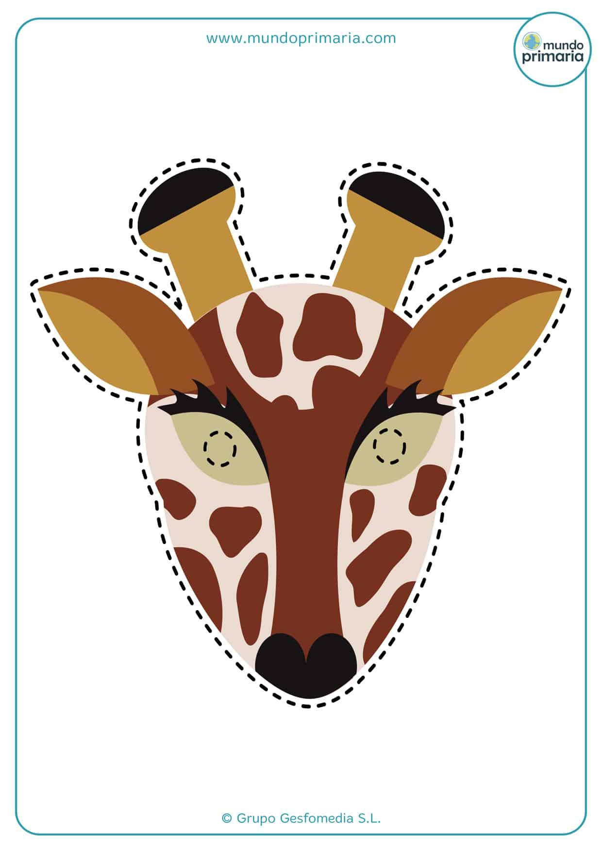 Sencillo disfraz casero de jirafa