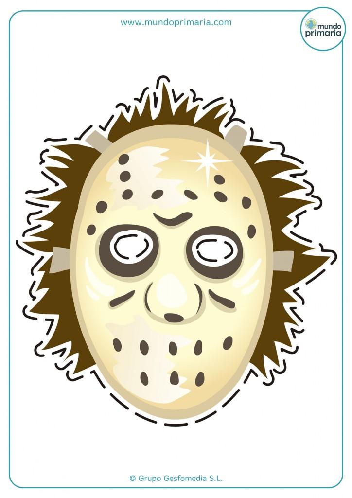 Careta de Jason para imprimir