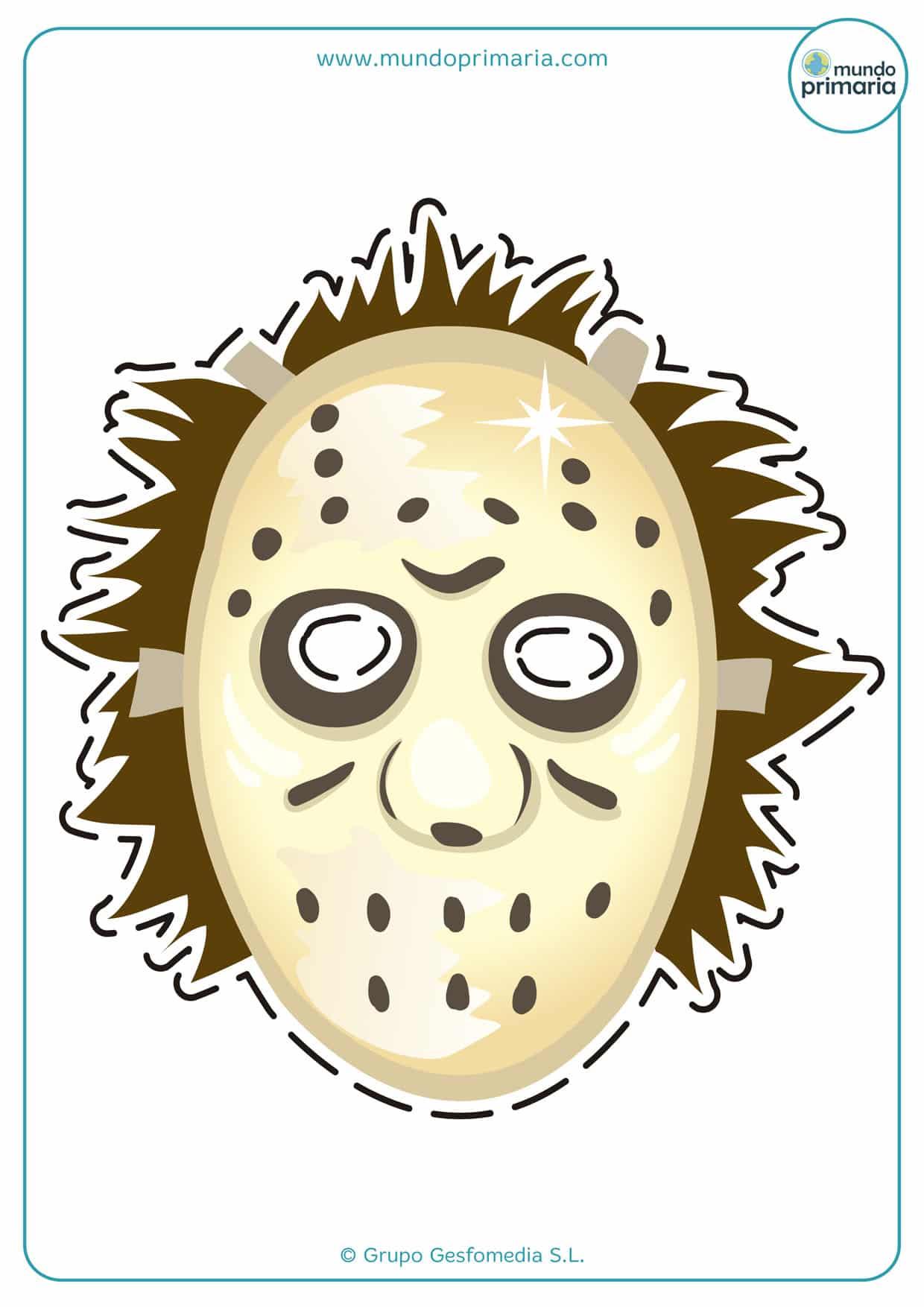 Careta de Jason de película de terror