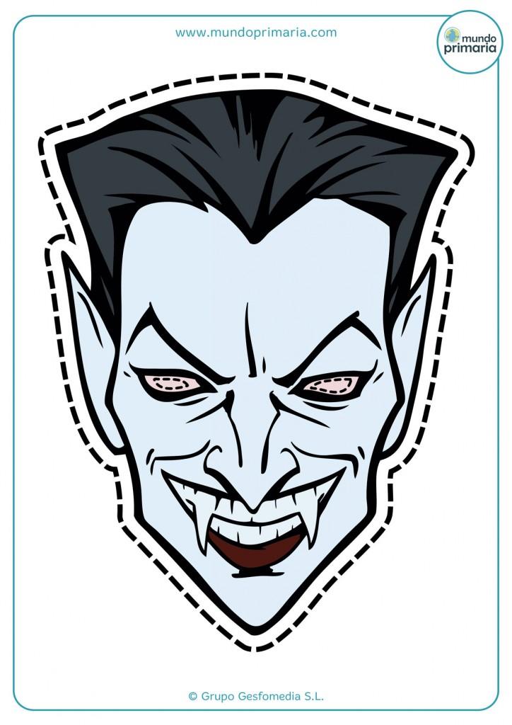 Careta de Drácula para Halloween