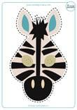 Careta-infantil-Cebra