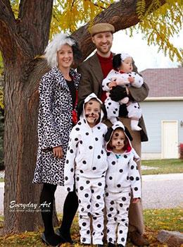 Difraces originales en Halloween con ninos