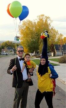 Disfraces de familias en Halloween