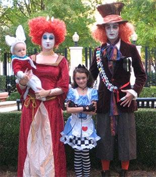 Disfraces de familias para Halloween