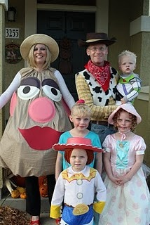 Disfraz de Halloween para familias