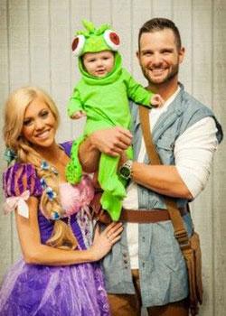 Disfraz de familia para celebrar Halloween