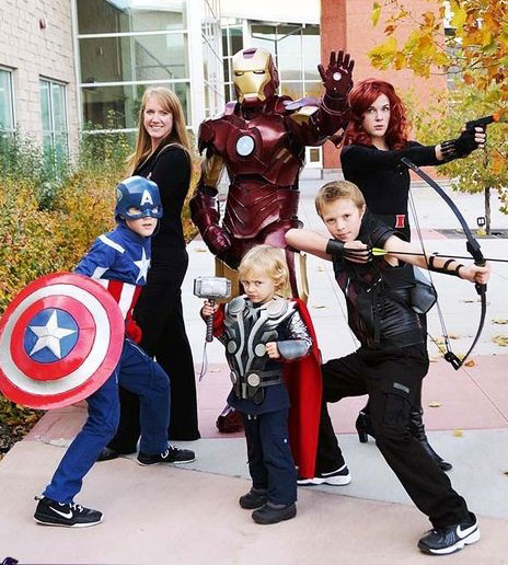 disfraces de halloween familiares